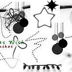 Christmas icon brushes