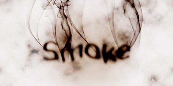 Smoke text