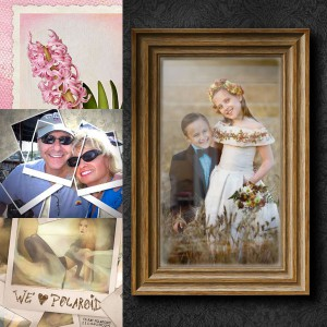 Beautiful Photo Frames and Borders Photoshop Tutorials