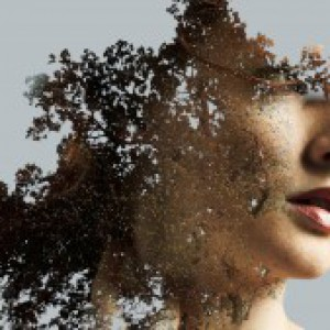 Beautiful double exposure effect in Photoshop