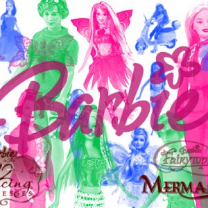 Download Barbie Doll Photoshop Brushes Set