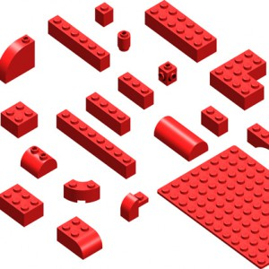 Download Lego Bricks Photoshop Brushes
