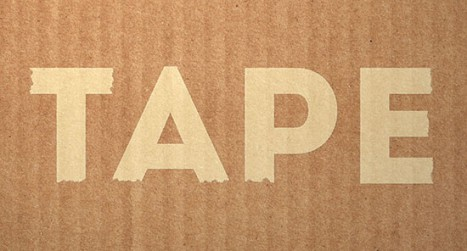 Masking Tape Text Effect in Photoshop
