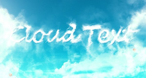 Create a Grungy Clouds Text Effect in Photoshop