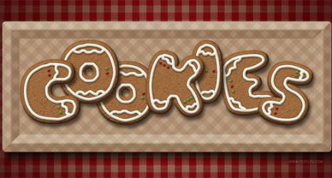 Create a Delicious Gingerbread Cookies Text Effect in Photoshop