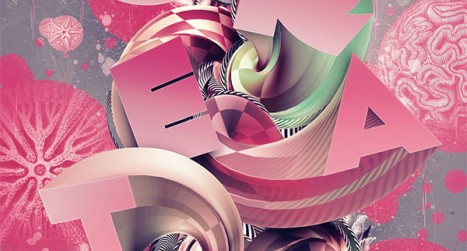 Create a Wonderful 3D Typographic Poster in Photoshop