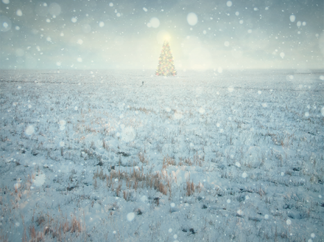 Create a Beautiful Christmas Artwork in Photoshop