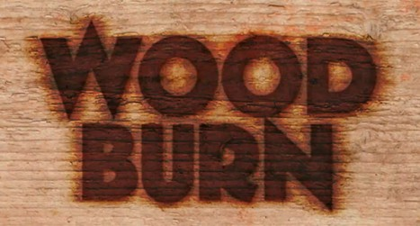 Create a Text Burnt on Wood in Photoshop