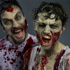 Create a gruesome Zombie in Photoshop