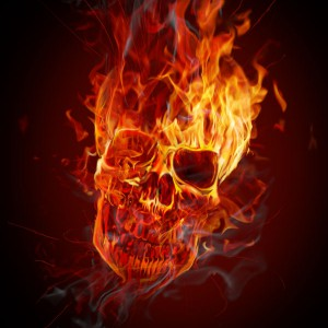 How to Create a Flaming Skull in Photoshop