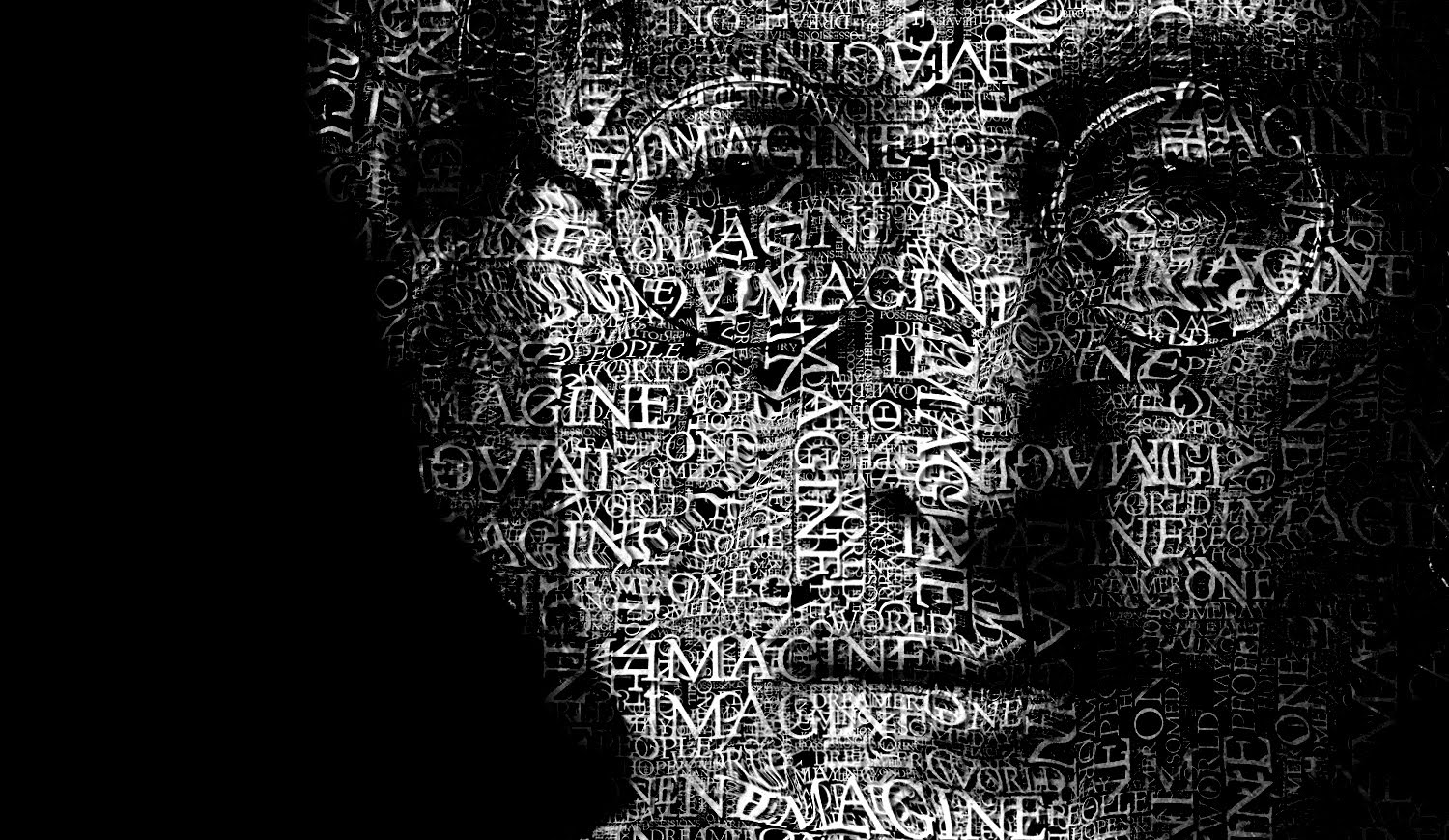 Create a typographic portrait in photoshop Typography portrait