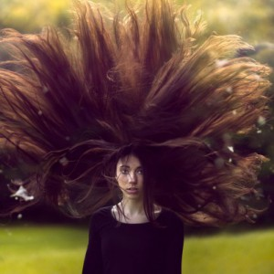 How to create a dramatic hair composition in Photoshop