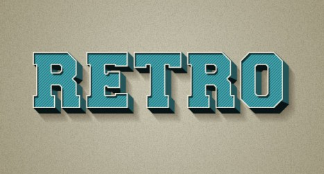 How to Create a 3D Retro Text Effect in Adobe Photoshop
