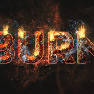 Create a Fire and Rust Text Effect in Photoshop