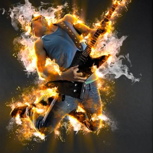 Download Fiery After Burn Premium Photoshop Action