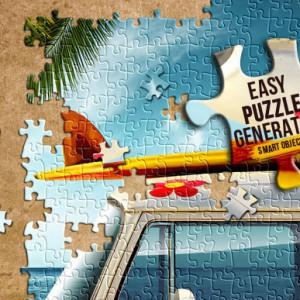 Download a Colorful Puzzle Generator Premium Photoshop Action