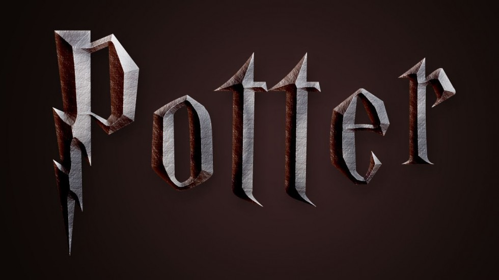 Harry Potter Book Font : Harry potter style text effect in photoshop