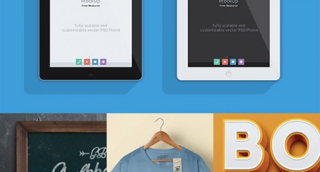 Download 25 Free Slick Mockup Templates for Photoshop