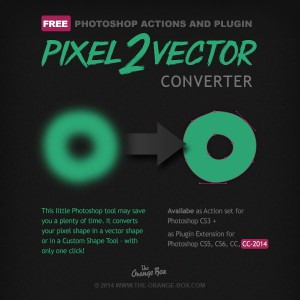 Pixel to vector converter free Photoshop Plugin