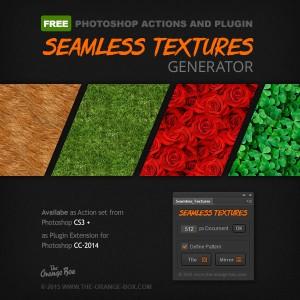 Free seamless texture generator Photoshop plugin