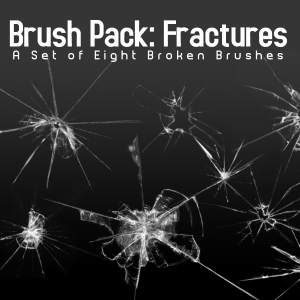 Download 8 Broken Glass Brushes