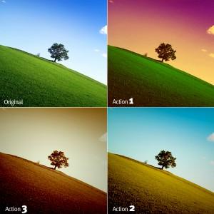 Darker effect Photoshop Action