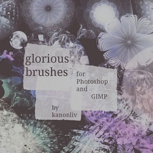 Glorious Photoshop brushes