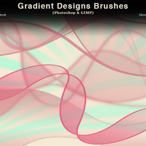 Gradient Designs Photoshop Brushes