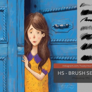 Download Canvas Brushstrokes Photoshop Brushes
