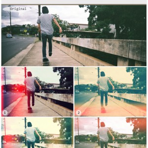 Light Leaks Effects Photoshop Actions