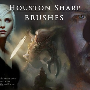 Download a traditional media Photoshop brushes set