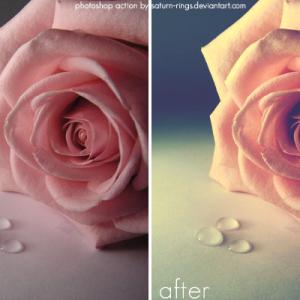 Soft light Photoshop action