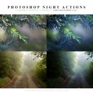 Photoshop Night Actions