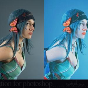 Lighting Effect Photoshop Action