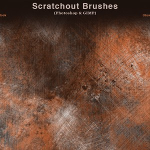 Scratchout Photoshop Brushes