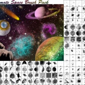 Ultimate Space Brush Pack