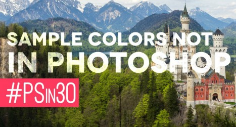 Sample Colors from The Web With Photoshop