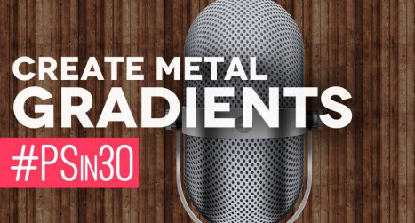 Create Metal Gradients in Photoshop