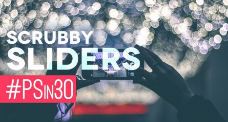 Scrubby Sliders and Opacity Tricks in Photoshop