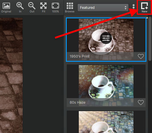 how to add topaz texture effects to pspx8