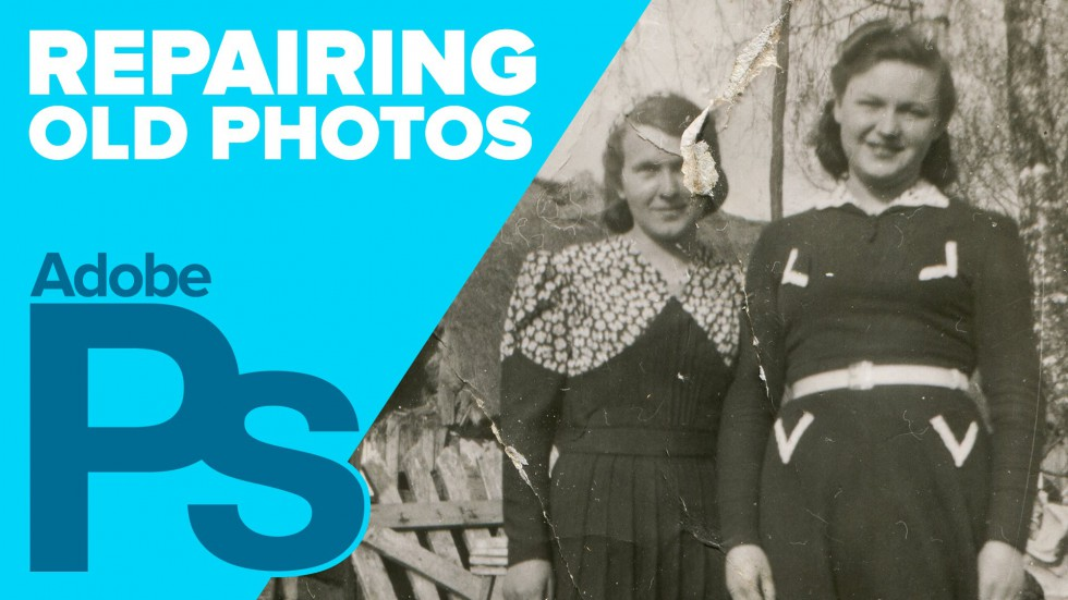 How to repair old photos in Photoshop