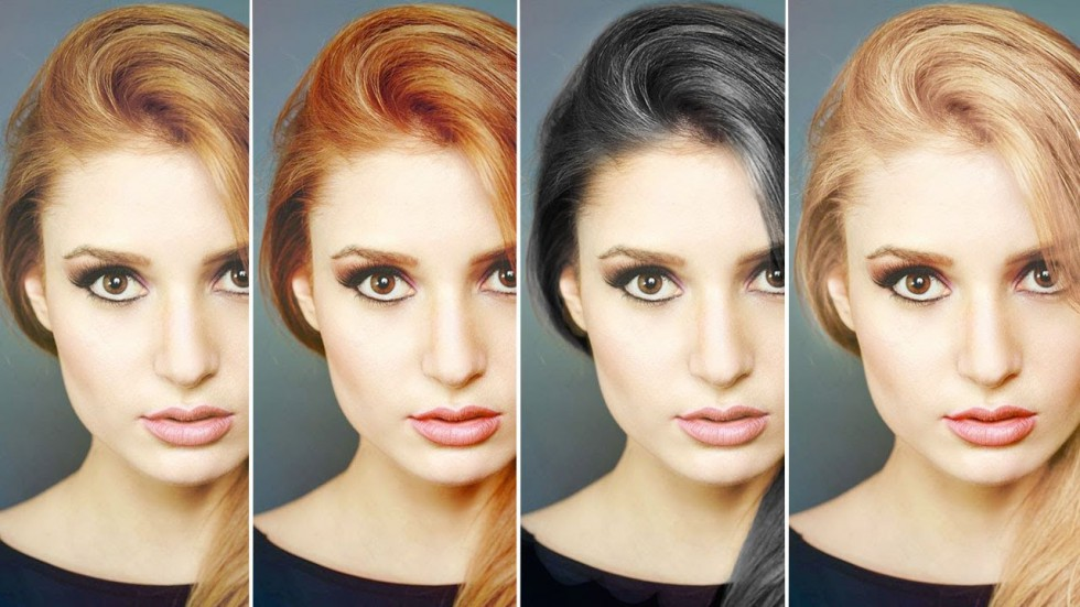 change hair color in photoshop